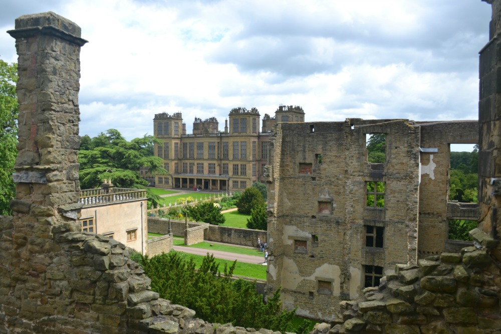 Hardwick Hall from Old Hall